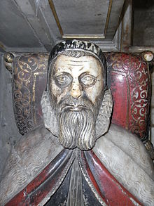 Effigy of John Still at his tomb in Wells Cathedral, Somerset, UK - 20100930.jpg