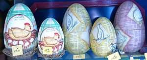 Easter eggs from France