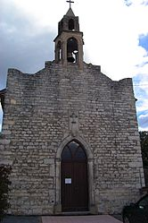 The church of Monteils