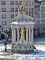 Einsiedeln - Hauptplatz - Marienbrunnen 2013-01-26 14-36-27 (P7700).JPG