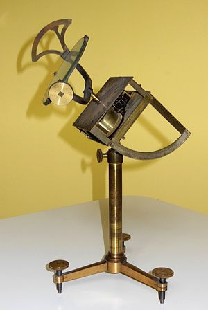Heliostat - Heliostat by the Viennese instrument maker Ekling (ca. 1850)
