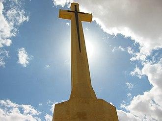 El Alamein - Image: El Alamein Commonwealth Denkmal