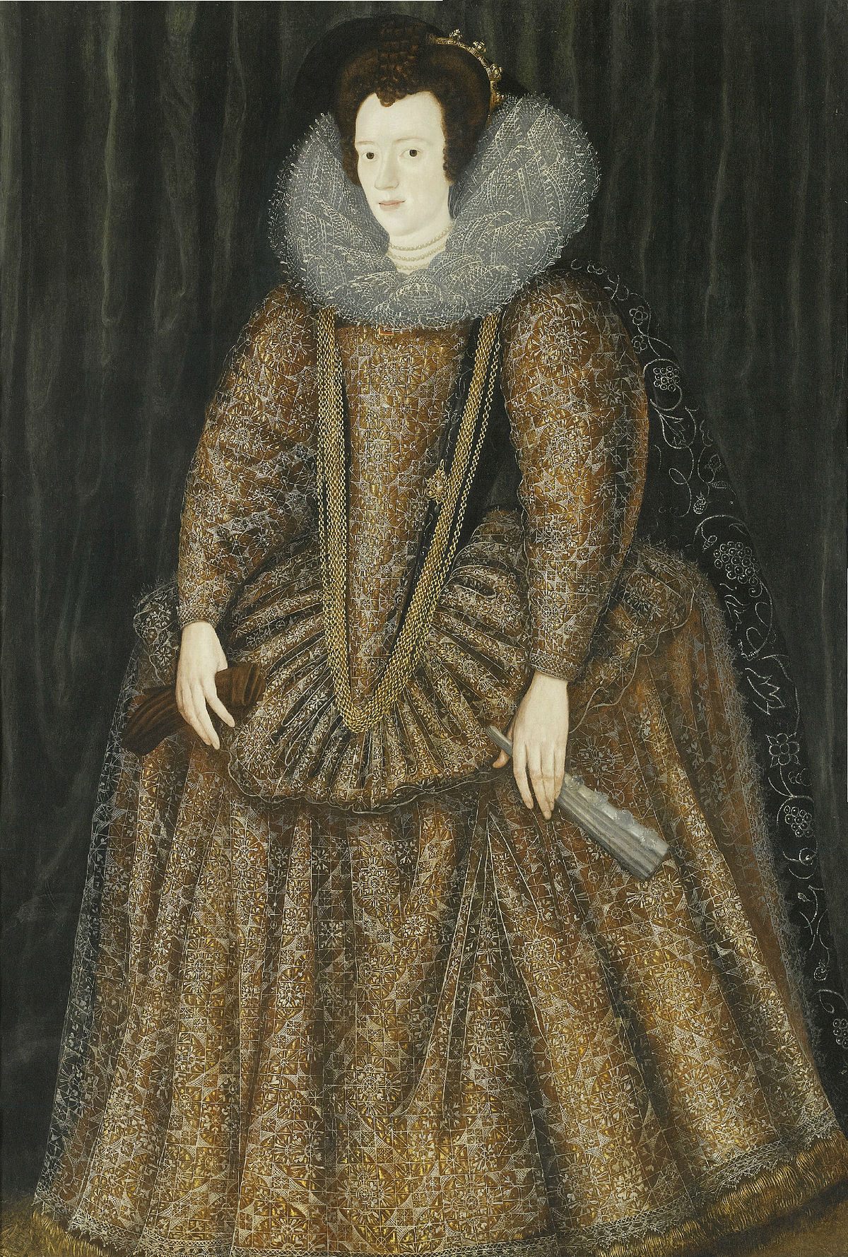 Elizabeth Somerset Countess Of Worcester Wife Of The 4th