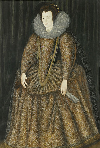 Elizabeth Somerset, Countess of Worcester (wife of the 4th Earl) - Elizabeth Somerset, Countess of Worcester, attributed to William Segar.