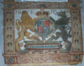 Elizabethan Coat of Arms in Little Somerford church.png