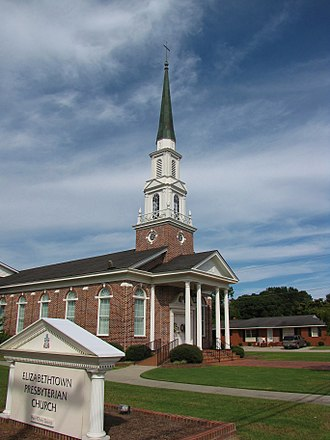 Bladen County, North Carolina - Image: Elizabethtown Presbyterian Church, Elizabethtown, North Carolina