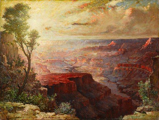 Elliott Daingerfield - The Grand Canyon (c.1912)