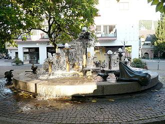 Neustadt an der Weinstraße - The Elwetritsche Fountain