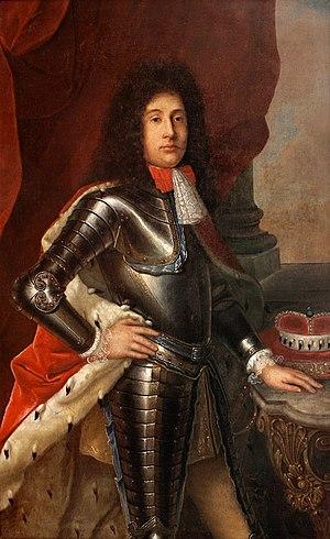 Emmanuel Lebrecht, Prince of Anhalt-Köthen - Image: Emanuel Leberecht von Anhalt Köthen (1671 1704)