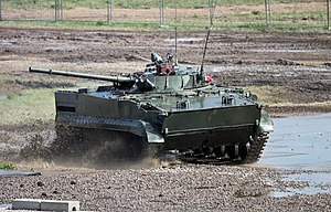 Infantry fighting vehicle - Russian BMP-3