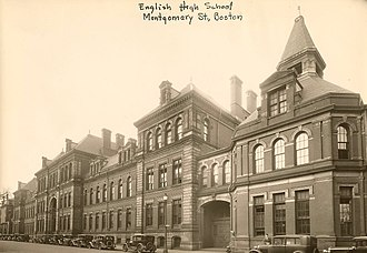 The English High School - Image: English High School 403002054 City of Boston Archives