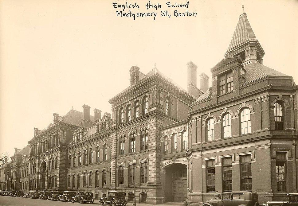 English High School - 403002054 - City of Boston Archives