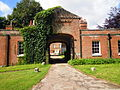 Entrance to wing courtyard Wolterton Hall 17 August 2014.JPG