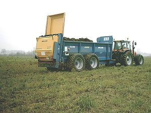 Agricultural wastewater treatment - Manure spreader
