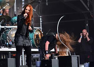 Epica (band) - Image: Epica – Wacken Open Air 2015 08
