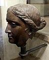 Epoca tolemaica o romana, testa femminile, forse arsinoe III (210 ac ca.) o afrodite (I secolo ac) 02.jpg