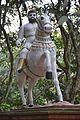 Equestrian Statue - Kathgola Gardens - Murshidabad 2017-03-28 6001.JPG