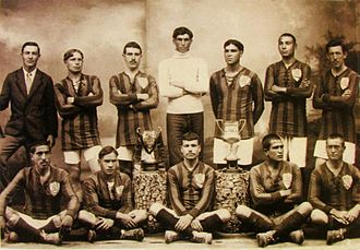 C.S. Marítimo - The team that won the first Championship of Madeira (1916–17)