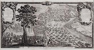 Erik Dahlbergh - Battle of Warsaw by Dahlbergh