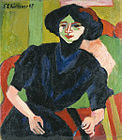 Ernst Ludwig Kirchner - Portrait of a Woman.jpg