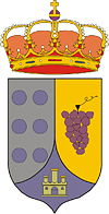 Official seal of San Pedro de Latarce, Spain