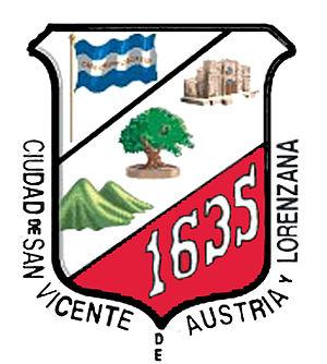 San Vicente Department - Image: Escudosanvicente es