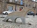 Escultura d'una llúdriga, Salt(gener 2009) - panoramio.jpg