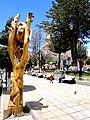 Escultura en Plaza Principal de POTOSI.JPG