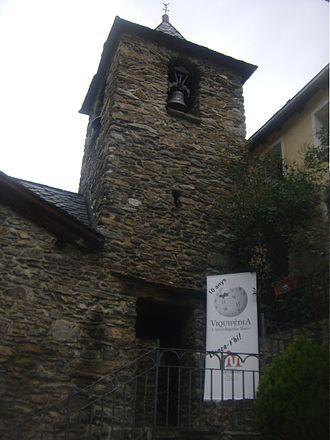 Església de Sant Andreu d'Arinsal - Image: Església de Sant Andreu d'Arinsal Wiki Takes