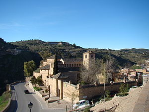 Iglesia de San Lucas, Toledo - Complete view of the church