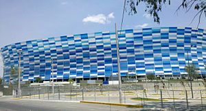 Estadio Cuauhtémoc en 2016