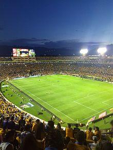 Estadio universitario uanl wikipedia la enciclopedia for Puerta 6a estadio universitario