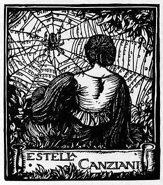 Estella Canziani - Bookplate of Estella Canziani