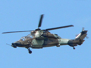 Eurocopter Tiger attack helicopter