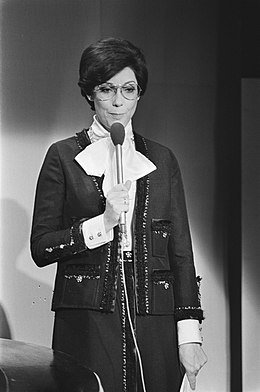 Brokken hosting the Eurovision Song Contest in 1976