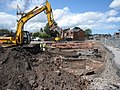 Excavating part of the George Street car park - geograph.org.uk - 1433915.jpg