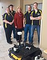 Exciting autonomous robotics research going on at Michigan Tech by very talented students. Go Huskies! (33018255944).jpg