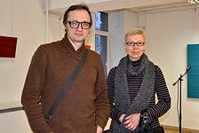 Exhibition of Norwegian artist Lars Strandh in Minsk Museum Modern Art 18.02.2015 07.JPG