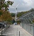 Experimental wind turbine off Madingley Road - geograph.org.uk - 1569292.jpg