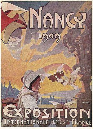 Exposition Internationale de l'Est de la France - Poster for the exhibition