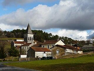 Eyvirat Part of Brantôme en Périgord in Nouvelle-Aquitaine, France
