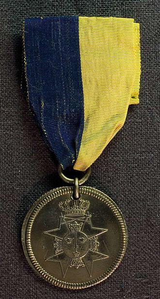 1789 in Sweden - För tapperhet i fält