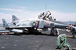 F-4N used for salvage practice on USS Enterprise (CVN-65) 1989.JPEG