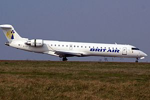 Bombardier CRJ700 series - The CRJ700 was introduced by Brit Air in 2001
