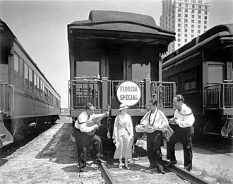 Florida East Coast Railway - Promotional excursions such as the Florida Special helped make the state the tourist destination it is today.