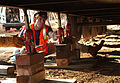 FEMA - 33780 - FEMA contractor installs piers for a mobile home in California.jpg