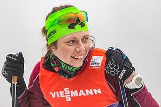 Vedrana Malec Croatian cross-country skier