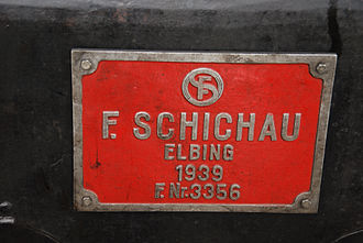 Schichau-Werke - Image: Fabrikschild Schichau