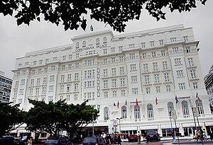 Copacabana Palace (1962 film) - Image: Fachada do Copacabana Palace