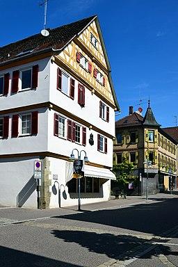 Heilbronner Straße in Vaihingen an der Enz